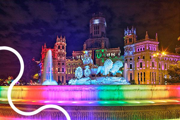 Madrid y zona centro LGBTQ+