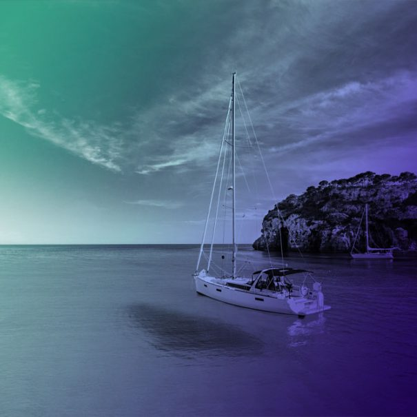 Menorca on a sailing boat from Barcelona